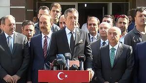 Milli Eğitim Bakanı Ziya Selçuk, Akçakalede açıklamalarda bulundu
