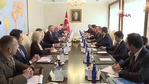 Çavuşoğlu, ABD Ulusal Güvenlik Danışmanı OBrien ile görüştü