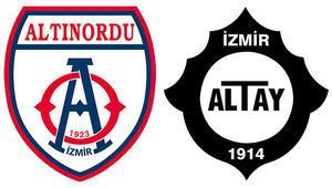 İzmirde ilklerin derbisi Altınordu, Altaya karşı...
