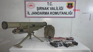 PKKlı terörist, Konkurs füzesiyle birlikte ölü ele geçirildi