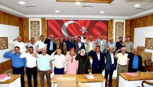 Türkoğlu Belediye Meclisinden Mehmetçiğe asker selamı