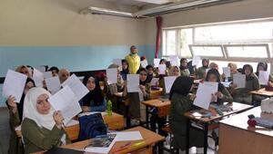 Suriyeli öğrencilerden Mehmetçiğe mektup