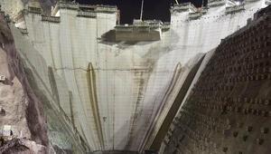 Yusufeli Barajında gövde yüksekliği 139 metreye ulaştı