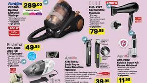 17 Ekim A101 aktüel ürünler kataloğu içerisinde kulaklık ve televizyon detayı