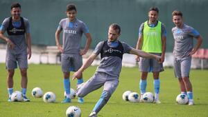 Trabzonspor, Gaziantep FK maçı hazırlıklarını sürdürdü