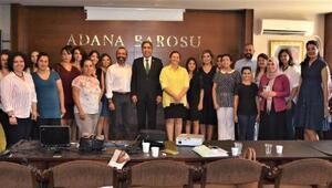 Adana Barosu meme kanserine dikkat çekti