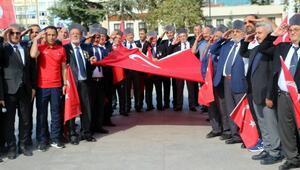 Tokattan Barış Pınarı Harekâtına asker selamlı destek