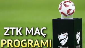 Ziraat Türkiye Kupası 4. tur maçları ne zaman ZTK maç programı belli oldu