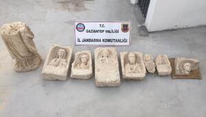 Gaziantepte tarihi eser operasyonu: 4 gözaltı