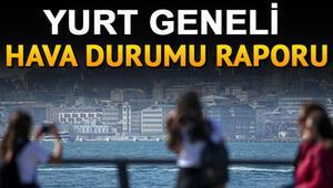 Meteorolojiden Marmara ve Ege Bölgesi için uyarı... 18 Ekim Cuma günü hava nasıl olacak