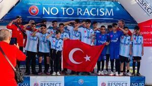 Şırnak UYAFA Takımı, Barcelonada ikincilik kupasını kaldırdı