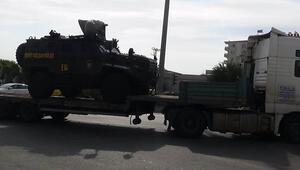 Suriyeye özel harekat polisi takviyesi