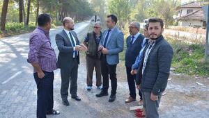 Başkan Özcan, mahalle gezilerine devam ediyor