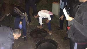 Kocaeli'de şok Kanalizasyona boşaltırken yakalandılar…