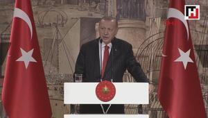 Cumhurbaşkanı Erdoğan, yabancı basın mensuplarıyla biraraya geldi