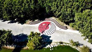 Bursa Botanik Park'ın sanatsal dokunuşlar