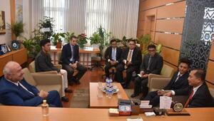 Endonezya'nın Ankara Büyükelçisi İkbal'den Bursa Kent Konseyi'ne ziyaret