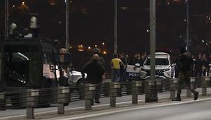 15 Temmuz Şehitler Köprüsünü kapatan kişi tutuklandı