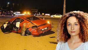 Kazaya sebep olup kaçtı... Genç kadından acı haber