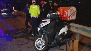 Kartalda karşı şeritteki kazaya bakan sürücü kazaya neden oldu