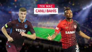 Trabzonspor - Gaziantep FK maçında dikkat çeken istatistik iddaada...