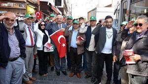 Bursa Kent Konseyi'nden Barış Pınarı Harekatına bayraklı destek