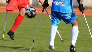 Ampute Futbol Türkiye Kupasında finalistler belli oldu