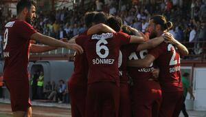 Hatayspordan müthiş geri dönüş Adana Demirsporu 1-0dan...
