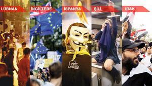 Dünya protestolarla çalkalanıyor