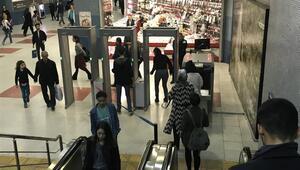 Metroda x-ray dönemi