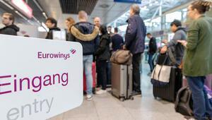 Grev uzadı 500 uçuş, 10 binin üzerinde yolcu...