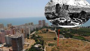 Yer Mersin... Aratosun anıt mezarının yeri bulundu