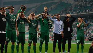 Bursaspor evinde bir başka 4 maçta 12 puan...