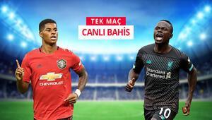 Premier Ligdeki DEV MAÇa iddaada hem TEK MAÇ, hem de CANLI BAHİS oyna