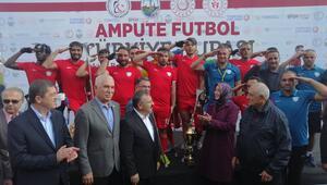 Ampute futbolda Türkiye Kupası, Şahinbey Belediyesinin