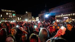 14 bin kişi katıldı: Halle kurbanları için dayanışma konseri