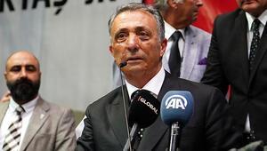 Son dakika Beşiktaşta yeni başkan Ahmet Nur Çebi oldu