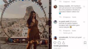 Gelin Adayı Hanife bu kez mini elbiseli pozu videosu ile gündem oldu