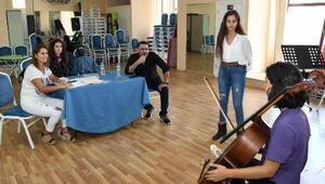 Çocuk Senfoni Orkestrasına büyük ilgi