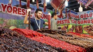 Erzurumun coğrafi işaretli lezzetleri vatandaşlarla buluştu