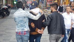 İstanbul'da hareketli anlar 'Çantamda bomba var. Patlatacağım'