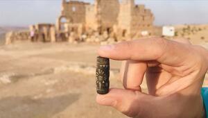 3 bin yıllık Asur mührü kazılarda ortaya çıktı