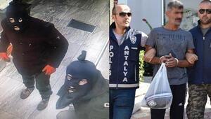 400 bin liralık hırsızlığın kar maskeli şüphelisi yakalandı