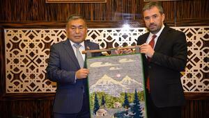 Kırgız heyet Pursaklar'da