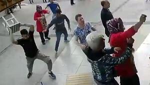 İzmirde dehşet anları: Karı-kocanın iş yerine böyle saldırdılar