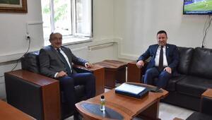 Beyoğludan Dışişleri Bakanlığı İrtibat Bürosuna ziyaret