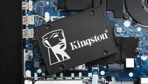 Kingstondan 2.5 inç büyüklüğünde yeni SSD