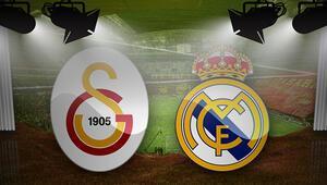 Galatasaray Real Madrid maçı istatistikleri Galatasaray Real Madrid maçı hangi kanalda
