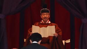 Japonyanın 126. İmparatoru Naruhito tahta çıktı