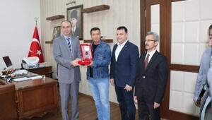Bandırma'da kan bağışı yapanlar ödüllendirildi